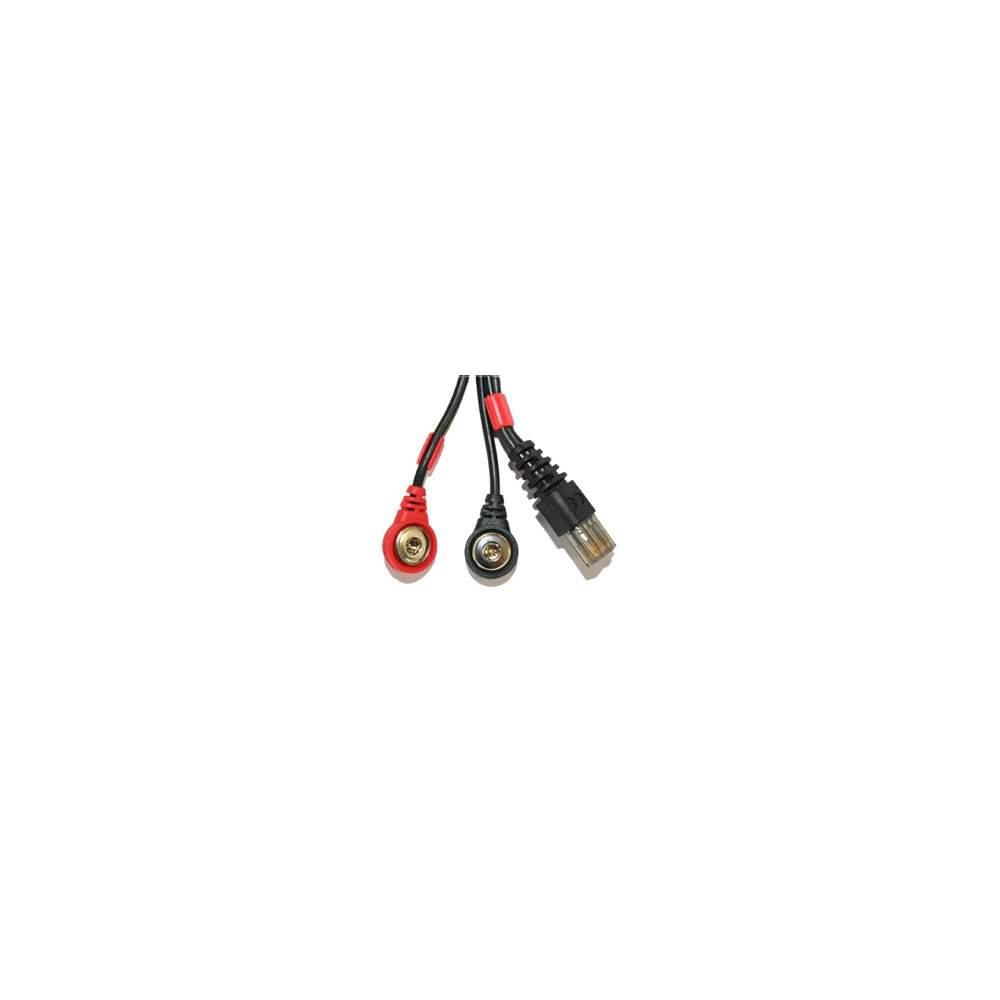 Cable COMPEX conexión Snap 8P