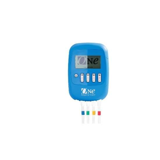 UN stimulateur Compex - L'électro-ONE est un produit unique. Leurs programmes sont spécialement conçus stimulation pour améliorer le chiffre d'hommes et de femmes. Électrostimulation améliore l'élasticité de la peau et permet tonifier le corps et maintenir la...