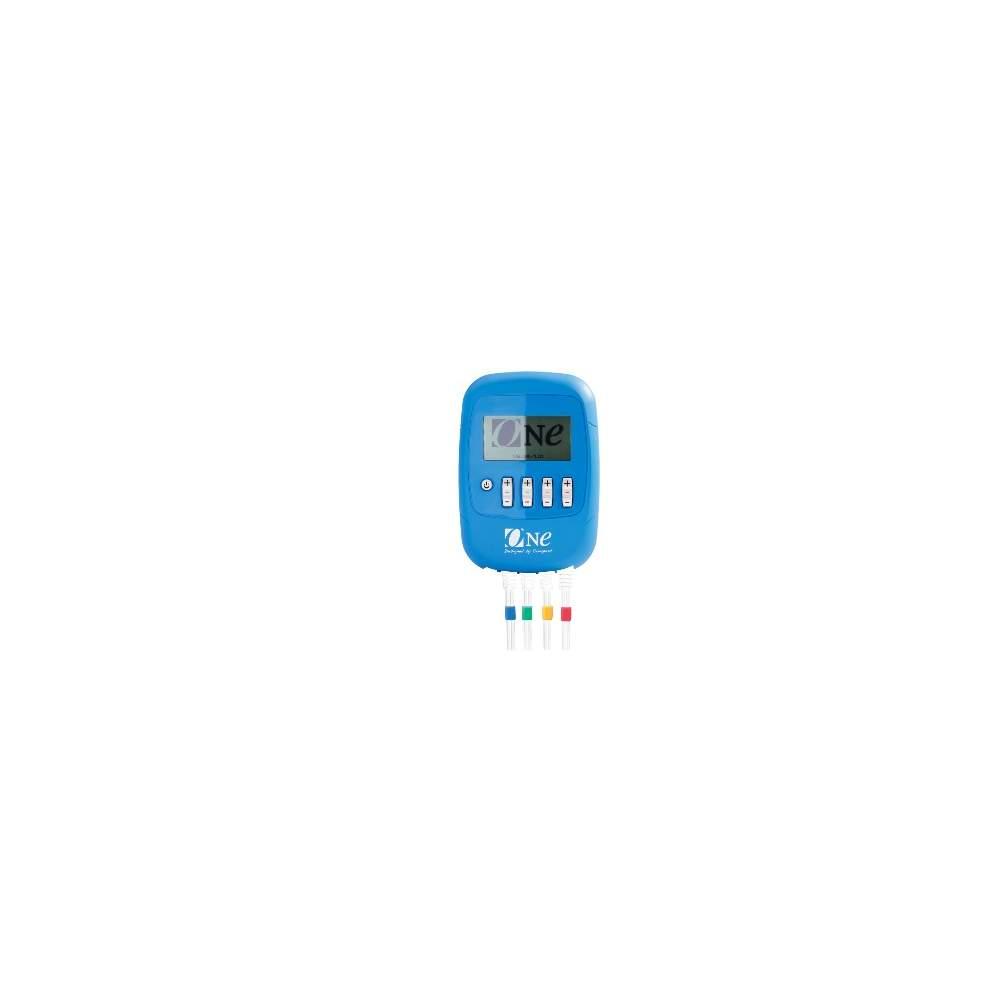 UMA estimulador Compex - O electro-ONE é um produto único. Seus programas são especialmente concebidos para melhorar a andar a figura de homens e mulheres. A eletroestimulação aumenta a elasticidade da...