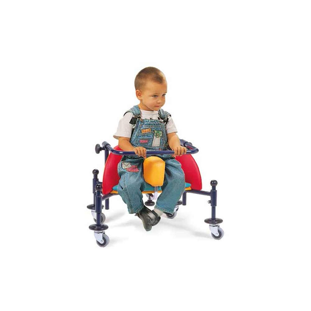 Infant walker Birillo - Infant walker BIRILLO is designed and built to support autonomous and allow early movement in sitting children from 2-8 years.