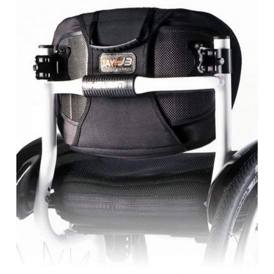 Respaldo Jay 3 Carbono - Avec tous les avantages d'un support rigide, mais avec un poids minimum. Le dos Jay3 carbone vous donne des avantages cliniques et fonctionnels importants