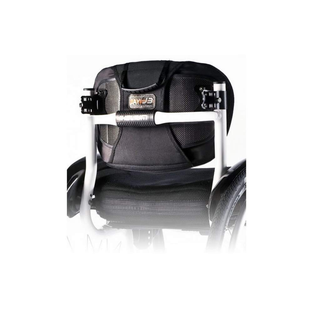 Jay 3 Carbon - Con tutti i vantaggi di un supporto rigido ma con peso minimo. La parte posteriore Jay3 Carbon ti dà importanti benefici clinici e funzionali