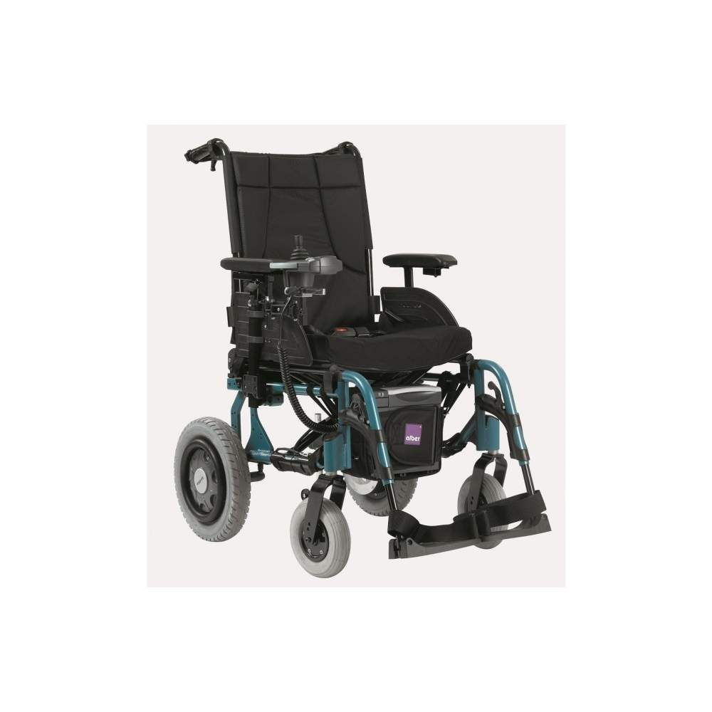 Action Esprit wheelchair folding 4NG - Invacare Action 4NG Esprit is a chair more compact and transportable electric wheel market. Chassis (heaviest element) weighs only 15 kg.