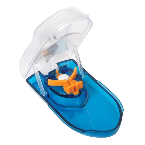 Partidor pilule »Ezy Cut ' - Permet pour les comprimés de la dose de moitié ou avaler plus facilement.