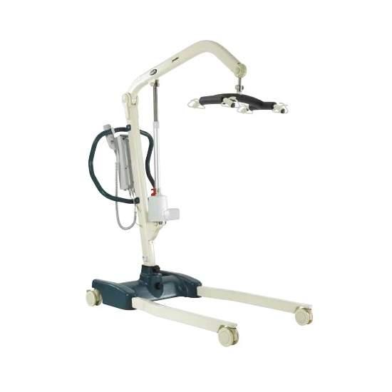 Jasmine transfer crane - This crane facilitates the work of caregivers.