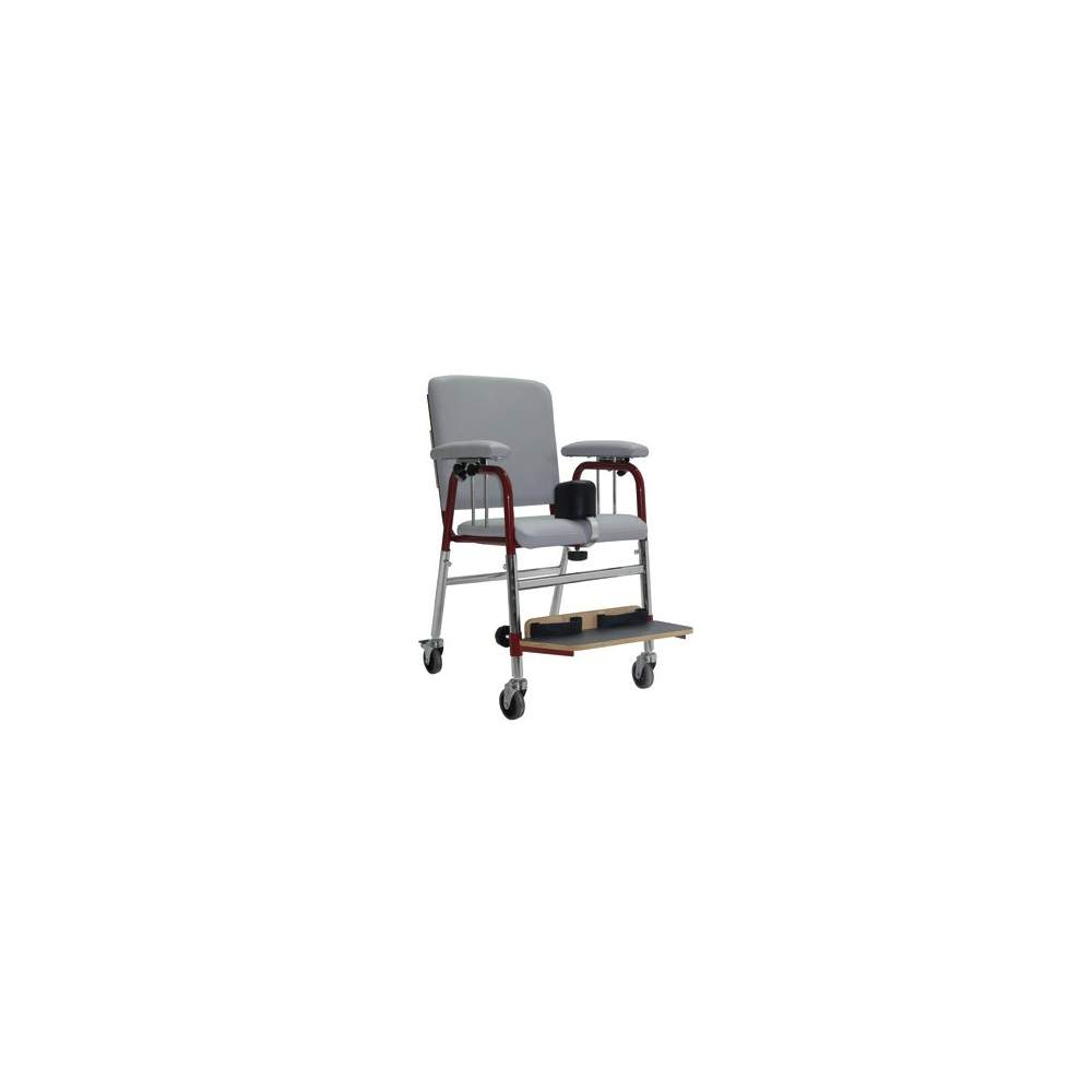 524 classroom chair / E - 524 / E is a classroom chair with steel frame and chrome, adjustable height.