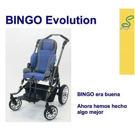 Silla rehabilitación Bingo evolution