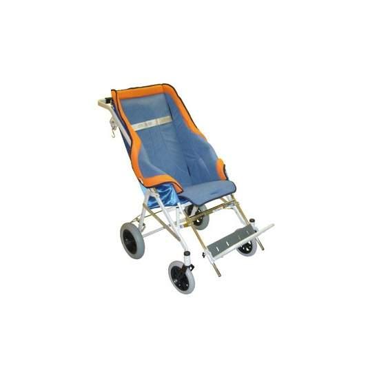 Calipso poussette - CALIPSOest un pliage, fauteuil inclinable en 3 positions. Le châssis est peint et acier chromé.