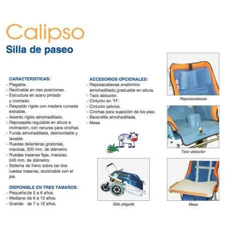 Silla pediátrica Calipso