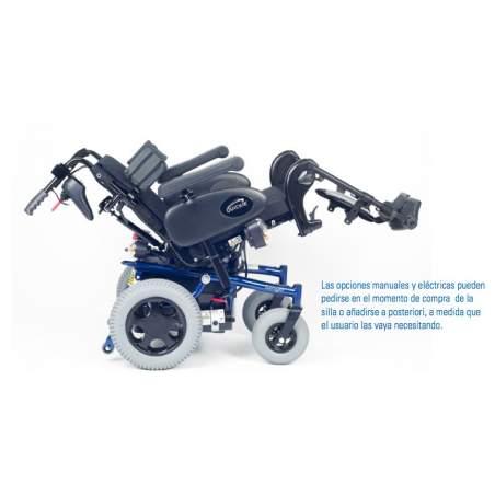 Silla de ruedas eléctrica Quickie Tango
