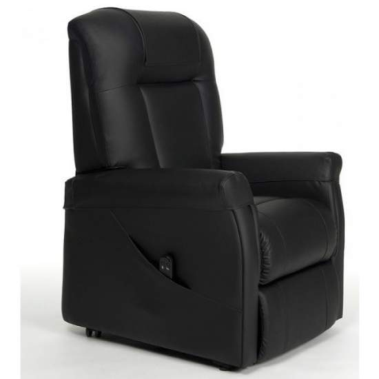Sillón Ontario reclinable y elevador de dos motores - El sillón Ontario de dos motores permite controlar de forma independiente la reclinación de la espalda y la elevación de las piernas...