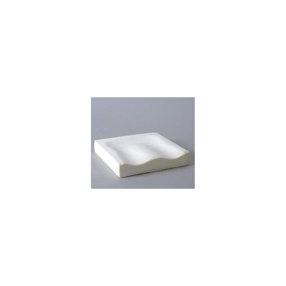 VISCOELASTIC ANATOMIC PAD - Anatomical viscoelastic cushion relieves pressure by acting to prevent bedsores in people who sit for long periods of time.