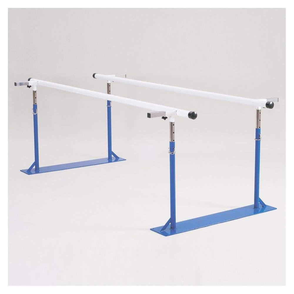 Paralelas de ancho y alto regulable H9517 - Tanto el ancho como la altura se pueden graduar, y además se pueden plegar para guardarlas.