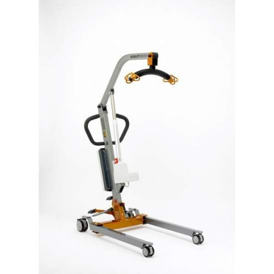 Grúa Sunlift Micro eléctrica (130Kg.) - Crane patient transfer Sunlift Micro Electric. Lifting capacity 130 Kg. Compact dimensions. Suitable for domestic use.