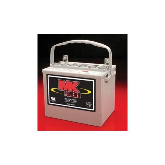 Baterias gel 35Amph (par) MK Powered 8GU1H - Baterias de 12V y 35Amph para sillas electricas y scooters. Modelo MK Powered8GU1H Par de baterías                Código Prestación Seg.Social  12240012