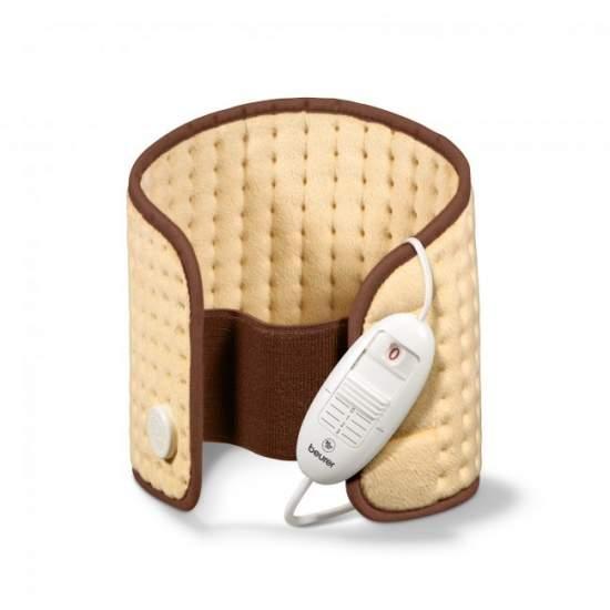 Almohada electrica lumbar abdominal - - Lumbar / abdominal.- Cinturón de velcro ajustable.