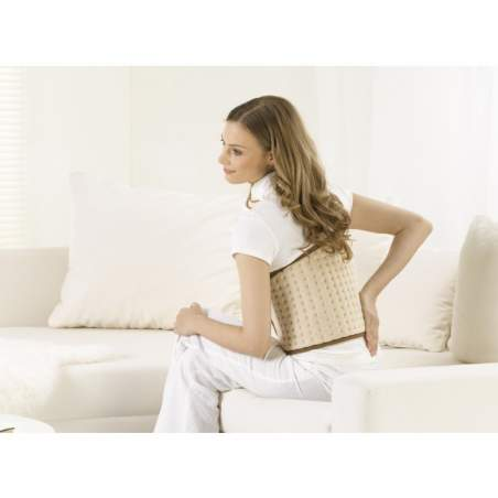 Almofada lombar elétrica abdominal