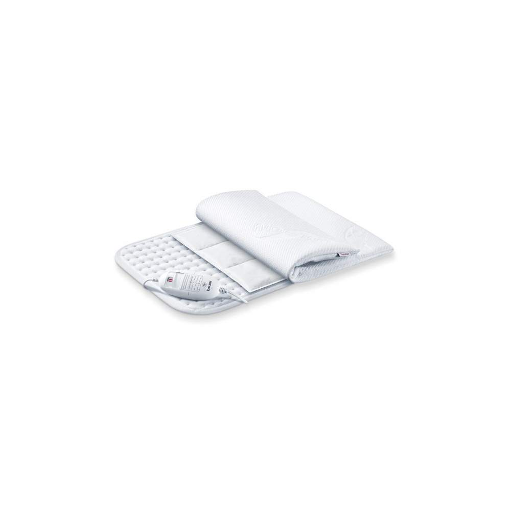 Oreiller électrique AROMATICA ALOE VERA -  - Comprend 2 accessoires aromatiques  · Relaxation (anis, de thym et de menthe)