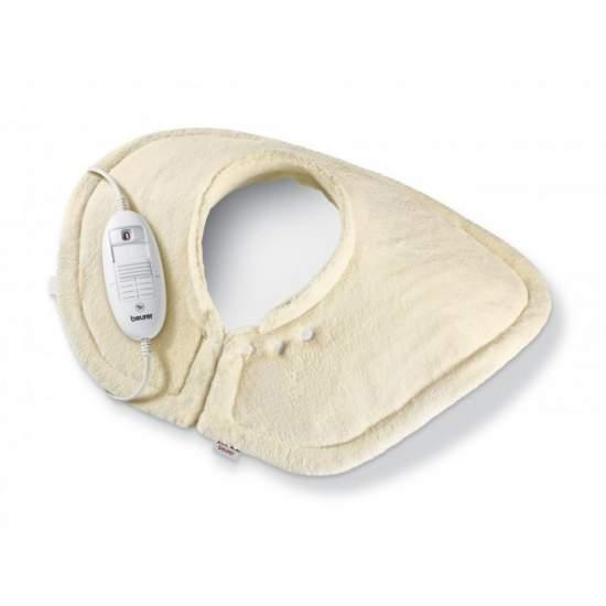 Pad di riscaldamento per il collo / TURBO spalla -  - Lavabile in lavatrice a 40 °.  - Impianto di riscaldamento ultraveloce.