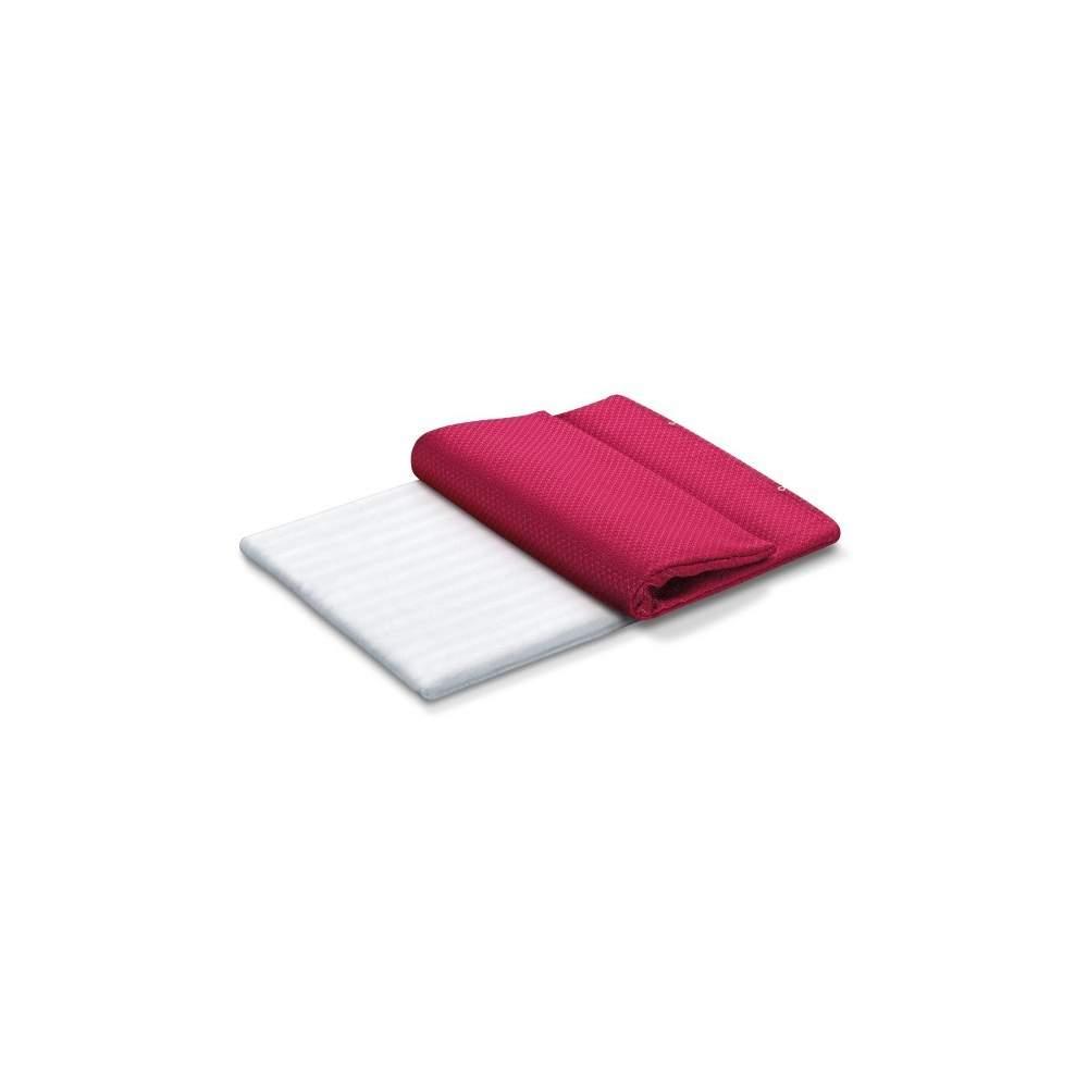 Pillow beurer eletrônico -  - Controle eletrônico de temperatura.  - Desligue 6 poderes.  - Potência 100 w.
