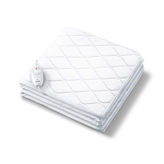 Scalda elettrici con funzione di regolazione UB 64 -  Utilizzare come scaldini elettrici e lenzuolo, tutto in uno  Lato superiore: cotone inferiore: pile  Lavabile in lavatrice a 40 ° C