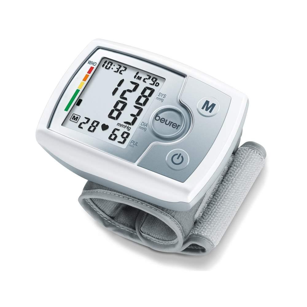 Tensiometer BC pulso 31 -  Medição da pressão arterial e pulso pulso totalmente automático  Grande, display de fácil leitura  60 de memória