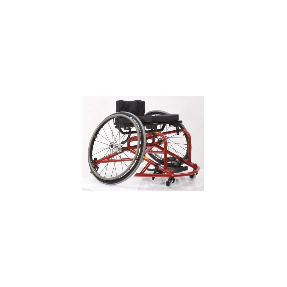 Invare Top End Pro 2 -  Président Multi Wheel  Le Invacare Top End Pro 2 est le président qui vous permet de pratiquer ne importe quel sport: tennis, basket, hockey, tennis de table et le badminton
