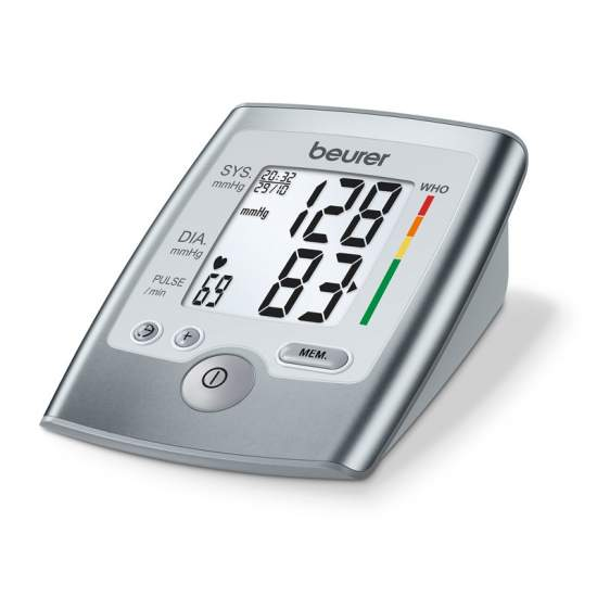 Tensiometro BM 35 -  Upper arm blood pressure  Measurement in fully automatic arm  Large, easy to read display  WHO Classification