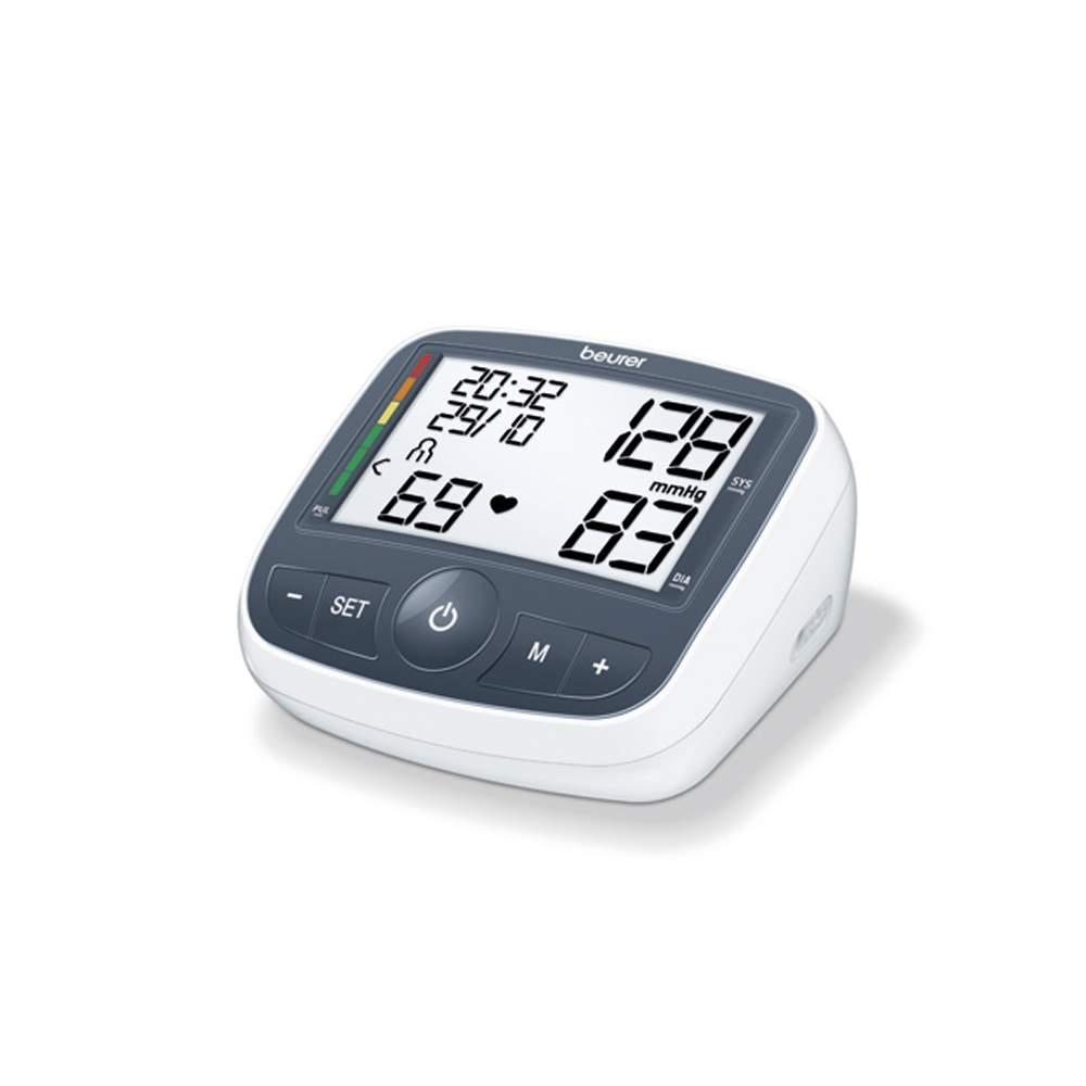 Tensiometro de brazo  BM40 - Tensiómetro para el brazo  Medición en el brazo completamente automática Indicador grande y de fácil lectura Aviso en caso de errores de aplicación
