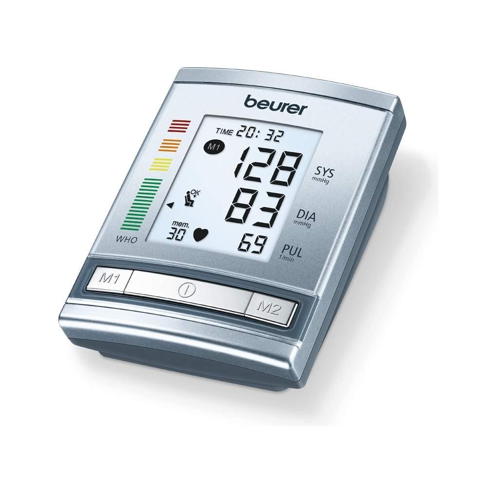 BM 60 tensiomètre numérique -  Bras pression artérielle  Mesure dans le bras entièrement automatique  Classification de l'OMS et de la détection de l'arythmie  Calcul de la moyenne