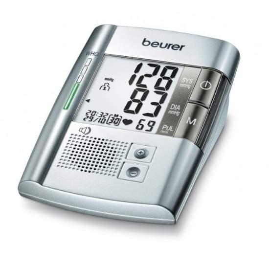 Tensiometro vocal numérique BM19 -  Blood Arm moniteur de pression avec la voix  Avertissement de perturbations possibles du rythme cardiaque (détection d'arythmie)  Classification de l'OMS  Mesure dans le bras entièrement automatique