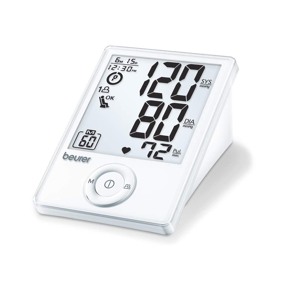 Beurer BM 70 - Tensiômetro de Braço - Tensiômetro para o braço Medição de braço totalmente automática Nova classificação da OMS e detecção de arritmias Cálculo do valor médio