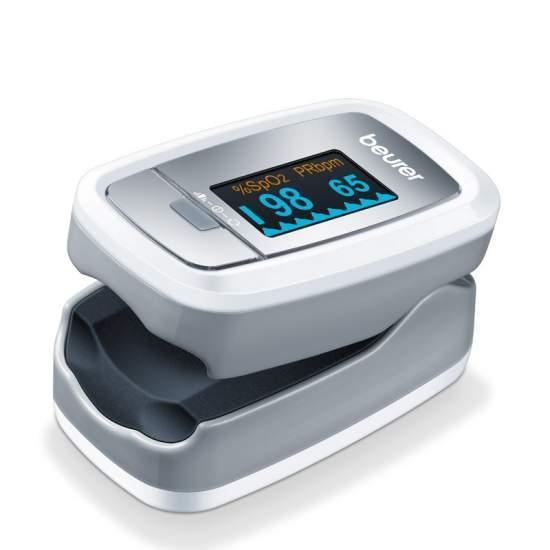 Pulsioxímetro P-30 - Pulsioxímetro  Para medir la concentración de oxígeno arterial (SpO2) y la frecuencia cardiaca (pulso) Medición muy sencilla y completamente indolora Pequeño y ligero: para el hogar y para viajes