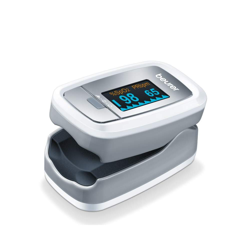 Pulse Oximeter P-30 -  Pulse Oximeter  To measure blood oxygen concentration (SpO2) and the heart rate (pulse)  Very simple and completely painless Measurement  Small and light: for home and travel