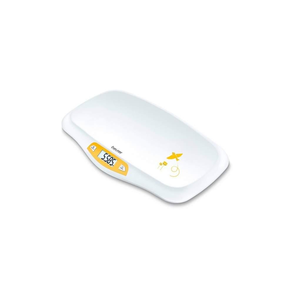 Bascula para bebes - Báscula para bebés  Báscula para bebés con plato de pesaje curvado Indicador grande y de fácil lectura Tamaño de las cifras: 23 mm