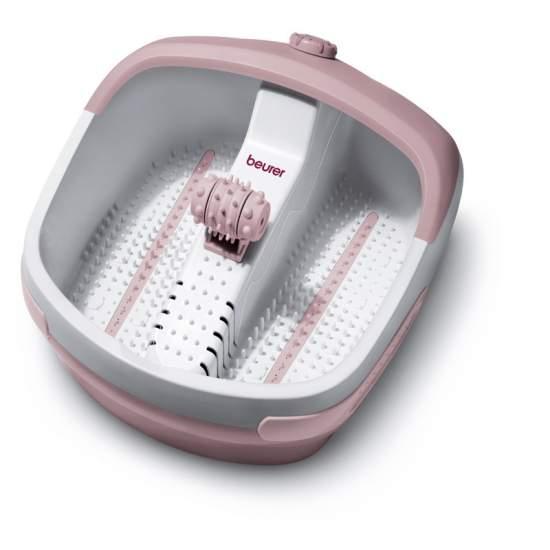 baignoire Foot -  Bain à bulles pour les pieds avec trois niveaux de fonctionnement: massage vibrant, bulles, eau chaude  Grand rouleaux de massage amovible pour reflex Pied  Avec 16 aimants intégrés d'application de champ magnétique