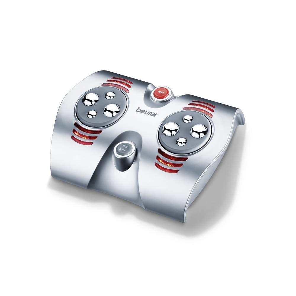 Pé massageador -  Massagem nos pés Shiatsu vigorosa com 8 rotativas bolas de massagem  Papel da luz e calor infravermelho  Estimula a circulação e relaxa os pés