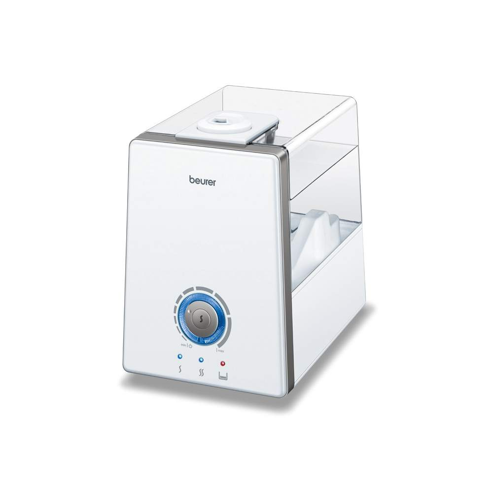 Air humidifier LB-88 -  ara rooms up to 48 m²  Humidification power up to 550 ml / h  Continuous ultrasonic nebulizer, air evaporator connectable 3 levels