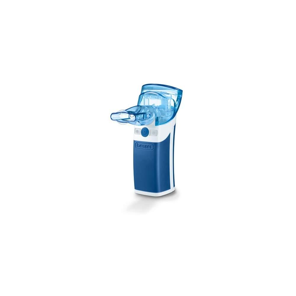 Voyage inhalateur -  Pour le traitement de l'appareil respiratoire supérieur et inférieur  Avec la possibilité de désinfection  Pour le traitement du rhume, l'asthme, maladies respiratoires ...