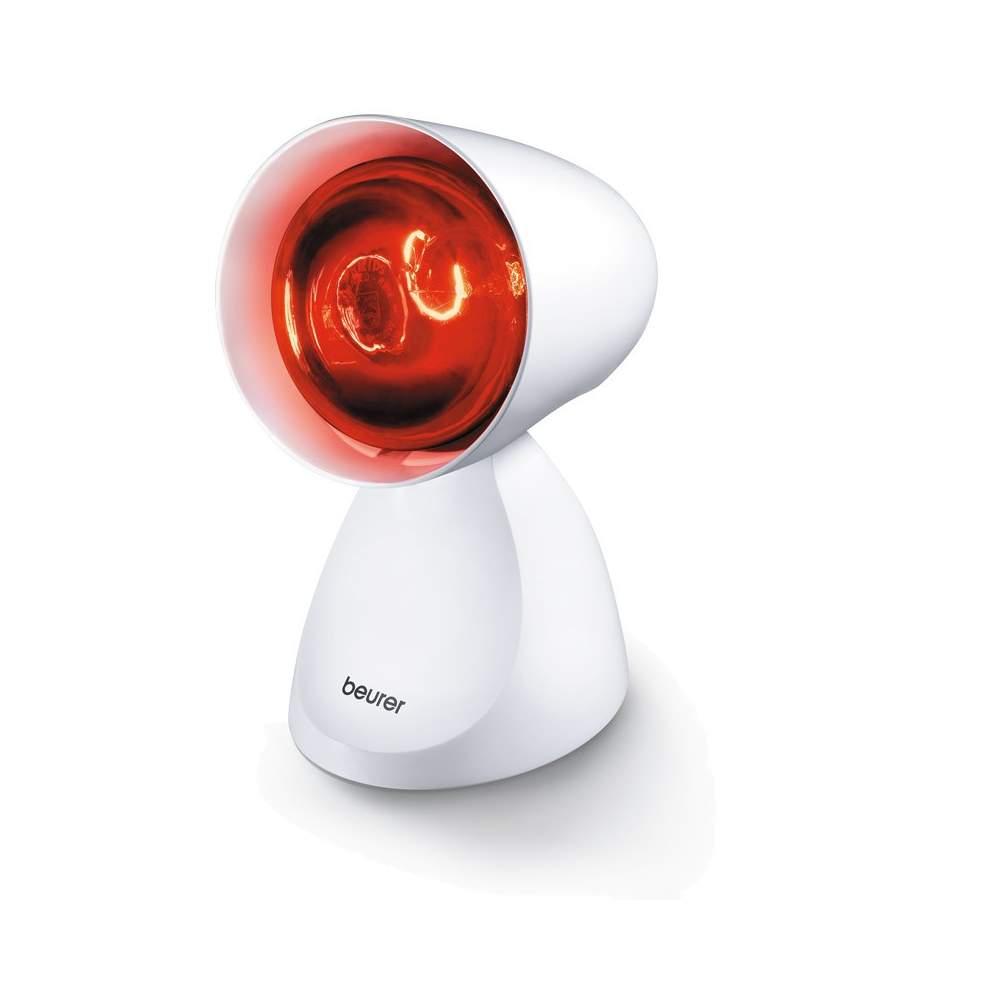 Lámpara de infrarrojos compacta - Lámpara de infrarrojos  Lámpara simple Diseño exclusivo Pantalla ajustable: 5 niveles de inclinación