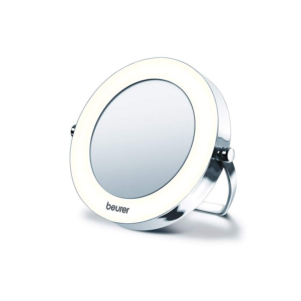 Pocket mirror with light