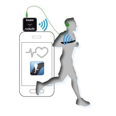 Moniteur de fréquence cardiaque Smartphone