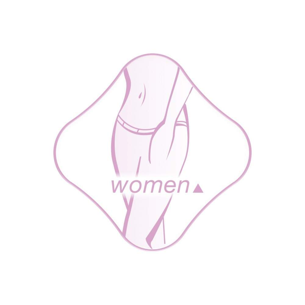 Electro Women -  Mini-Pad woman  Electrostimulation to alleviate abdominal pain  Treatment at the exact site of pain  Soft and flexible