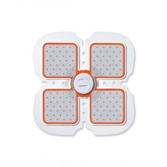 6 pack abdominale electroestimulador -  EMS (stimulation électrique des muscles) pour la formation et la régénération musculaire abdominale  Souple et flexible  Confortable et sûr