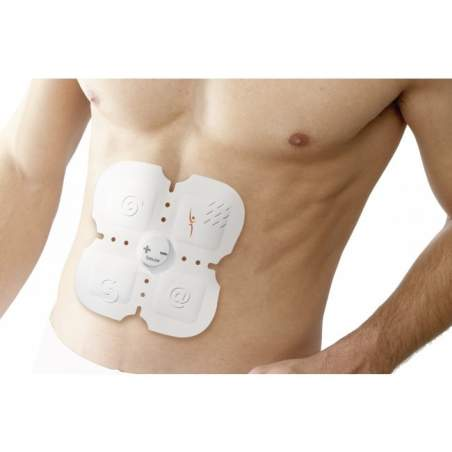 Electroestimulador abdominal 6 pack