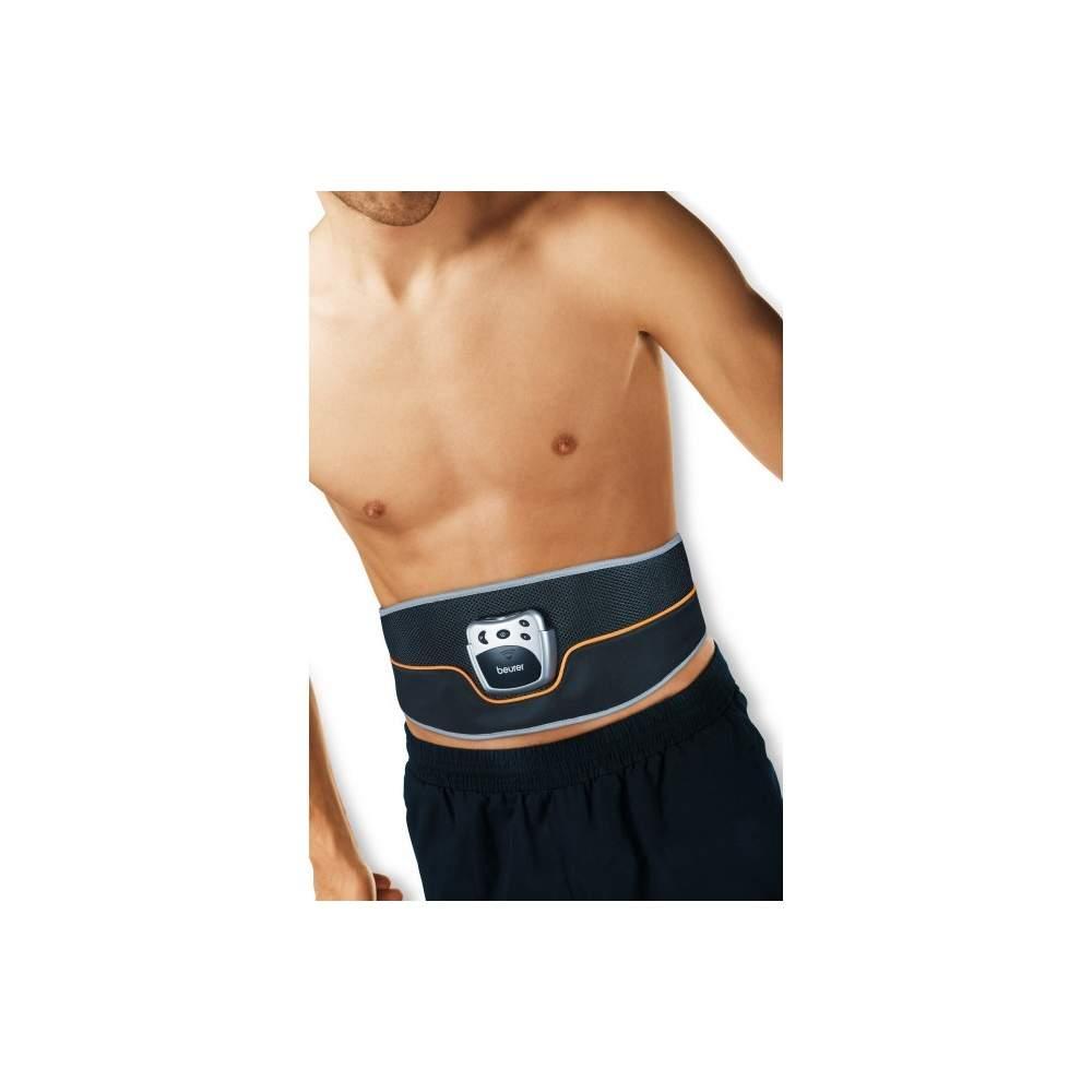 Stimolatore cintura abs -  Stimolatore cintura abs  Molto facile da usare  Cintura addominale flessibile con chiusura in velcro  Display LCD con simboli chiari