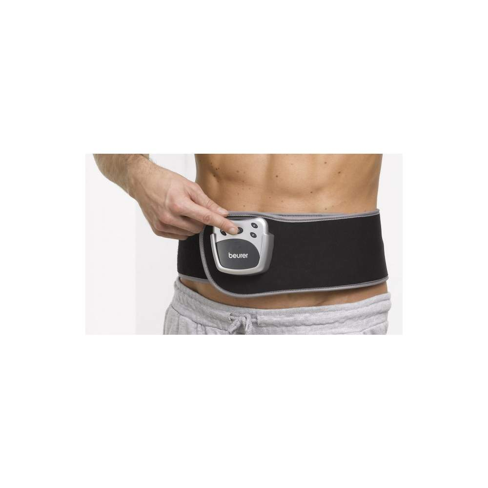 Lumbar belt electrostimulation -  Electrostimulation to alleviate back pain  Treatment at the exact site of pain  Soft and flexible