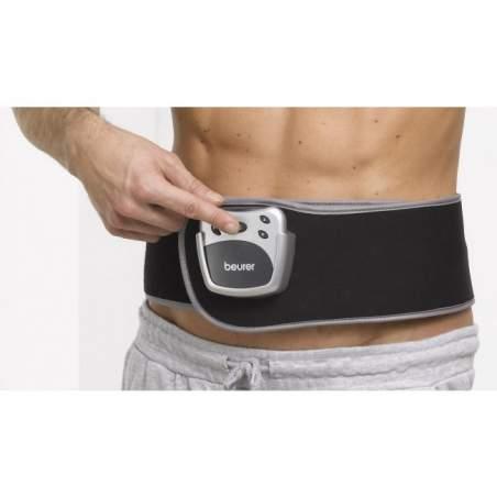 Lumbar electrostimulation belt