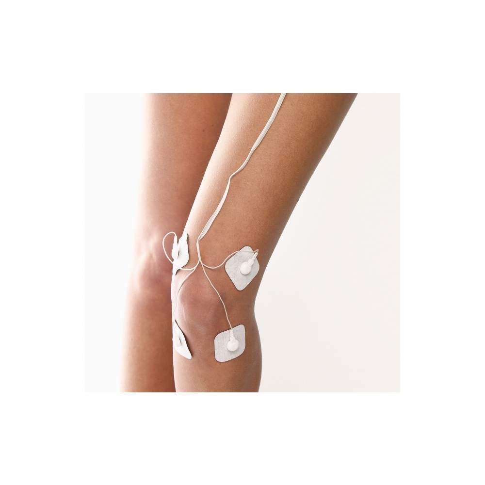TENS electrostimulation unit -  Electrostimulation unit  3 in 1: TENS (nerves, pain), EMS (muscle), massage (relaxation)  4 adjustable separate channels with 8 self-adhesive electrodes  30 pre-programmed...