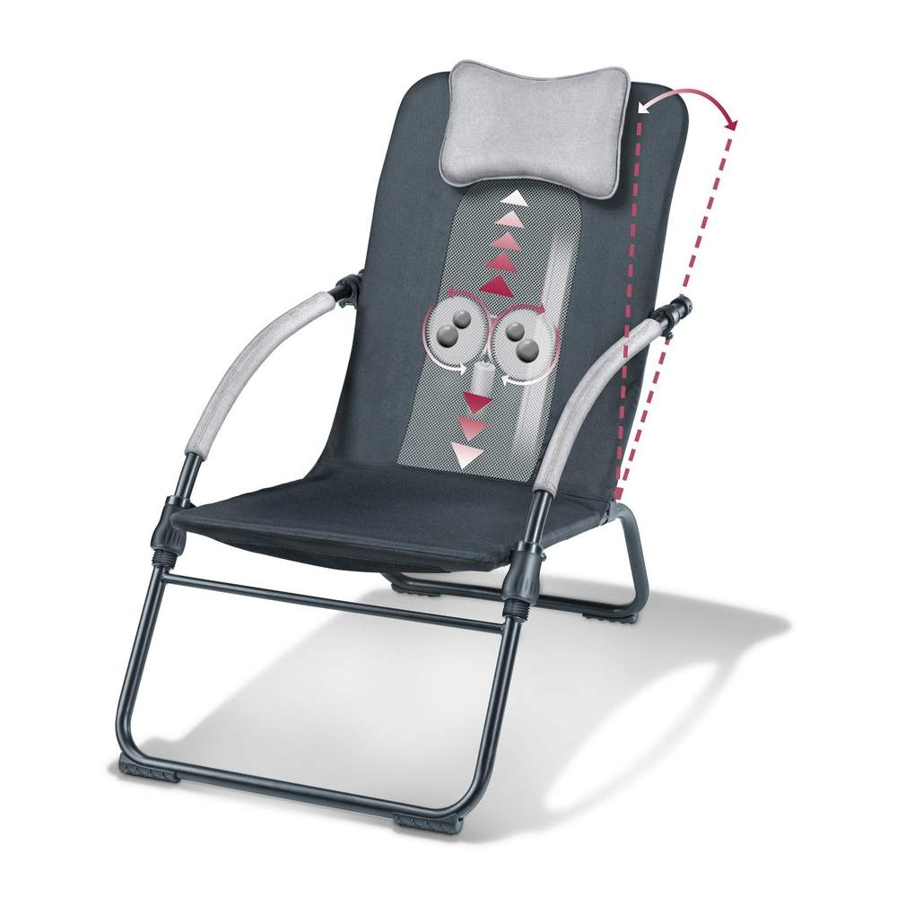 Shiatsu Massage Chair -  Shiatsu Massage Chair  Shiatsu massage intense along the backbone  4 rotating massage heads with rotation partner and march to the right and left  Localized and partial massage